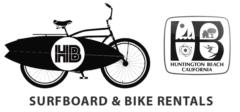 surfboard and bike rentals HB
