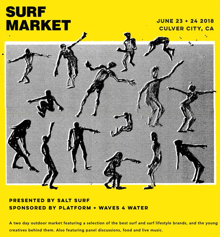 Platform Hosts Surf Market Pop-Up Presented by Waves 4 Water