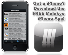 FREE Malakye.com iPhone App.  Stay Infomed On The Go!