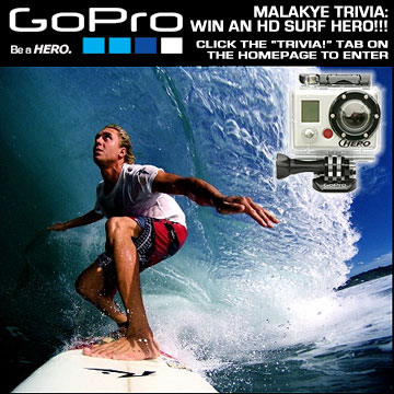 Win a GoPro HD Surf HERO!