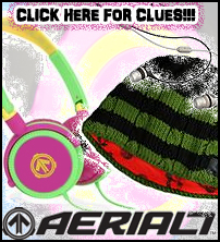 Win this AERIAL7 Sound Set!  Click this image for clues...