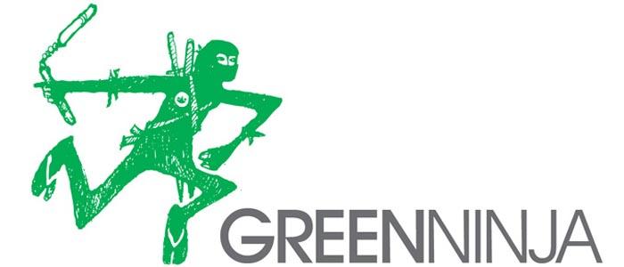 Green Ninja goin' Green!
