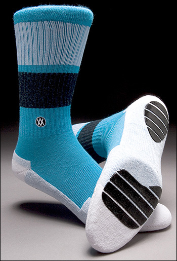 Stance Gripper Cush Skate Socks with COOLMAX