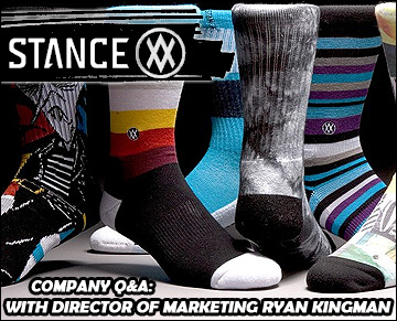 Stance Company Q&A with Ryan Kingman