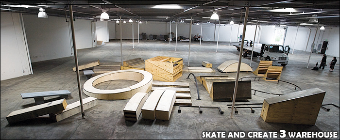 Site of Transworld's Skate and Create 3