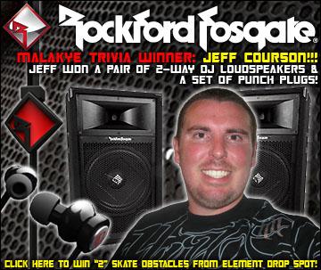Rockford Fosgate Trivia Winner: Jeff Courson!