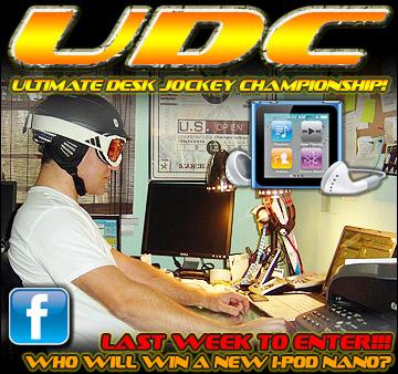Ultimate Desk Jocket Contest on Facebook!
