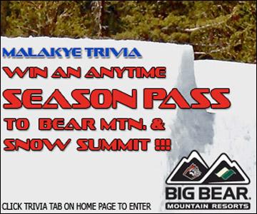 Big Bear December Trivia!