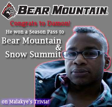 December's Malakye Trivia Winner!