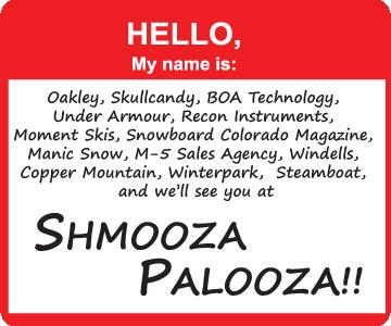 Shmooza Palooza @ SIA!
