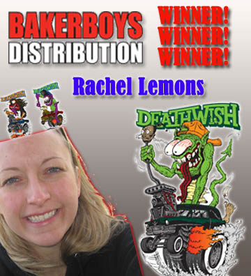 Winner of the Baker Boys Distribution Trivia!