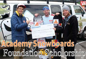 Q&A with Academy Snowboards - Foundation Scholarship!