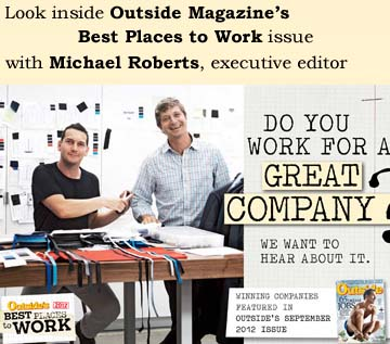 A Look Inside Outside Magazine's Best Places to Work!