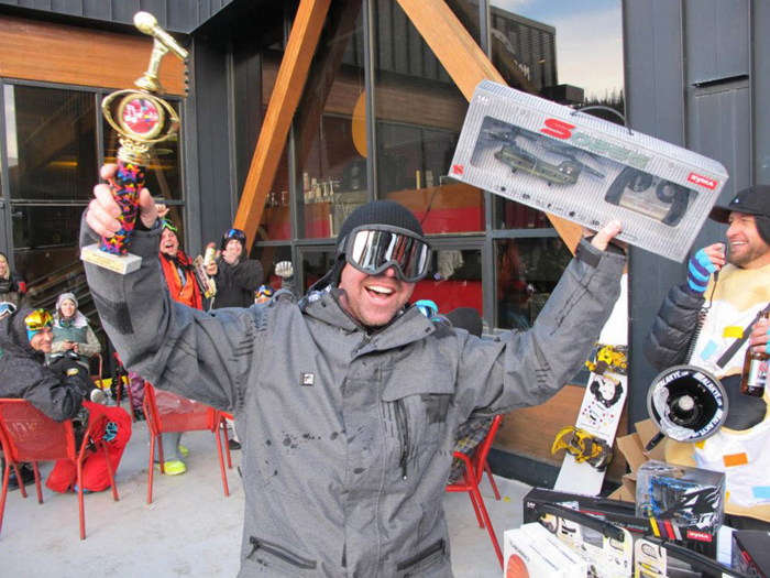 Quasi Big Air Winner John Graham!