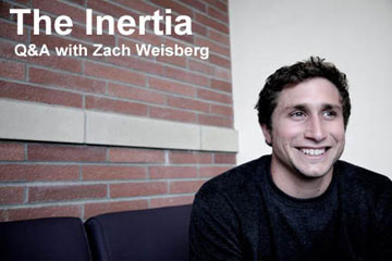 Q&A: The Inertia With Zach Weisberg