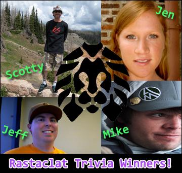 Rastaclat Trivia Winners!