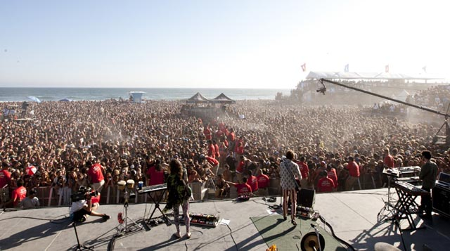 2012 Nike US Open Of Surfing Readies The Beach For Three Packed Nights Of Music