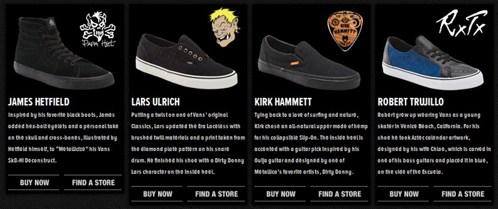 vans james hetfield